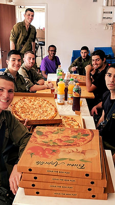 Pizza & Drinks For A Platoon