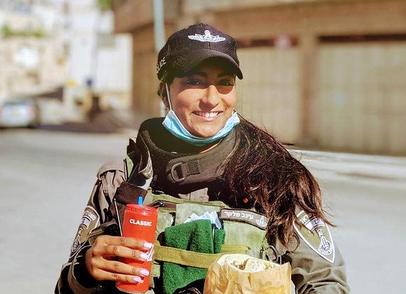 Falafel & Drink for IDF Soldier