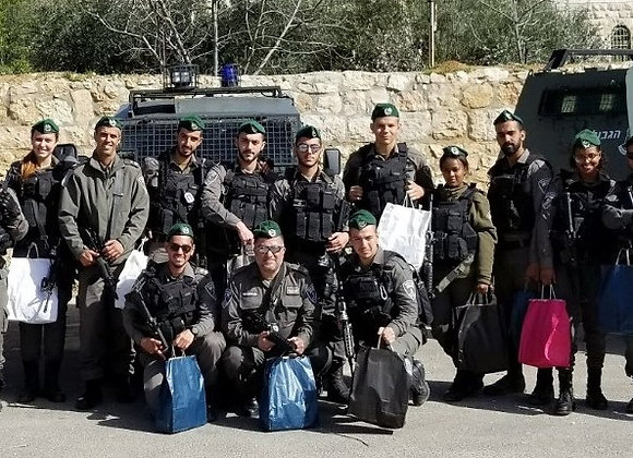 Purim Packages For A Platoon of 15