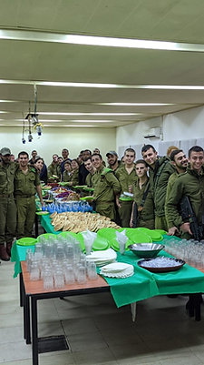 Falafel & Drinks For A Platoon