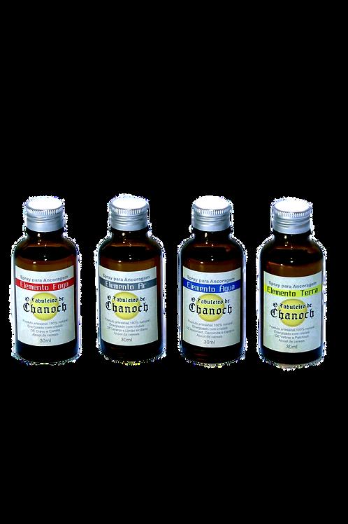 Kit Spray 4 Elementos