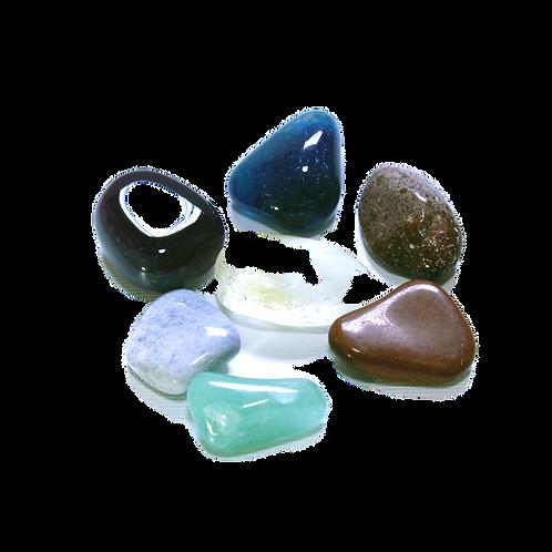 Kit 7 pedras naturais – As pedras dos chacras;