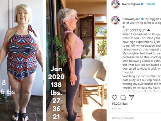74-летняя пенсионерка стала фитнес-моделью