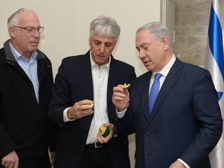 """Биньямин Нетаниягу: """"Я горжусь израильским сельским хозяйством"""""""