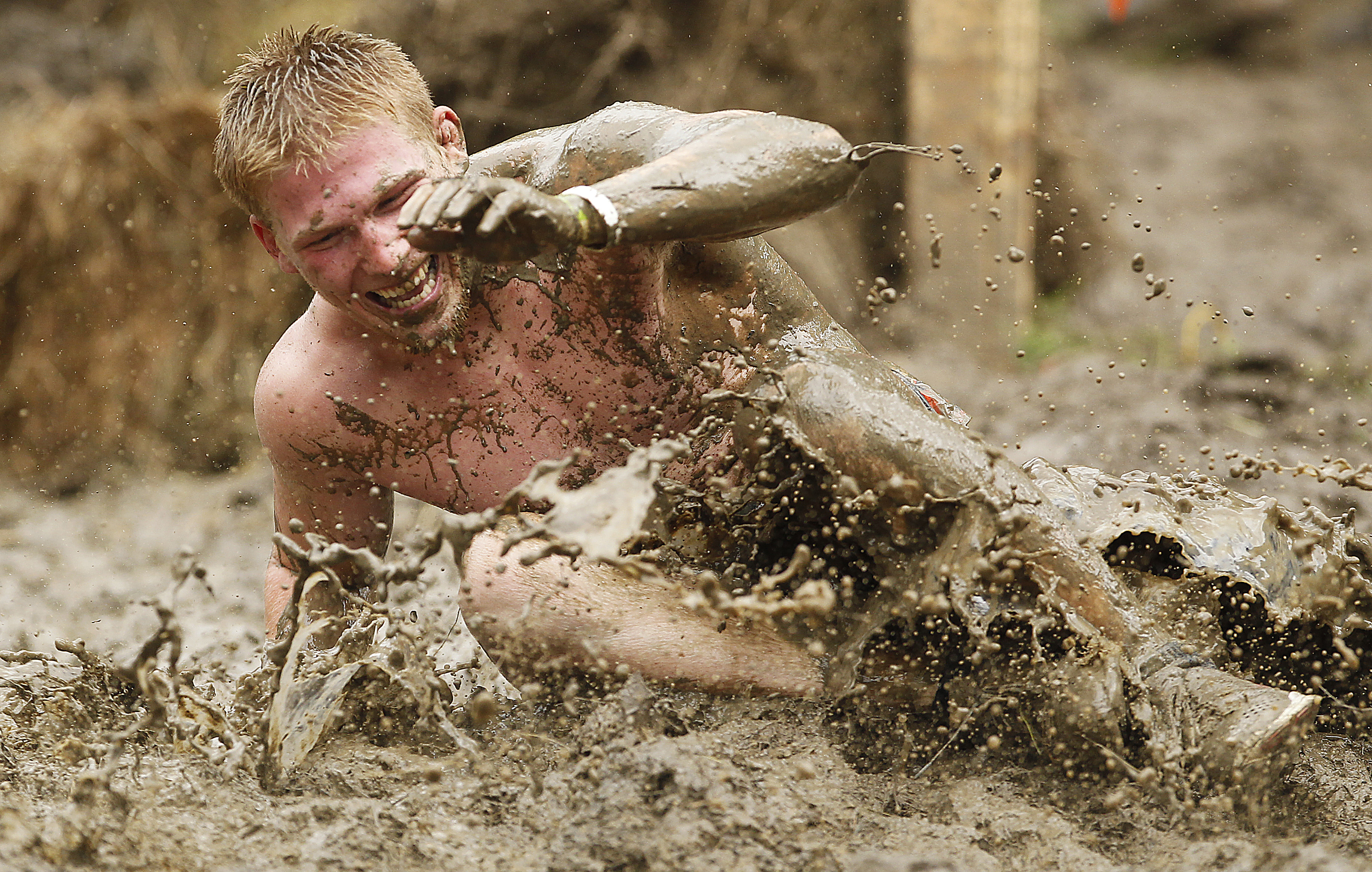 Sliding in the Mud