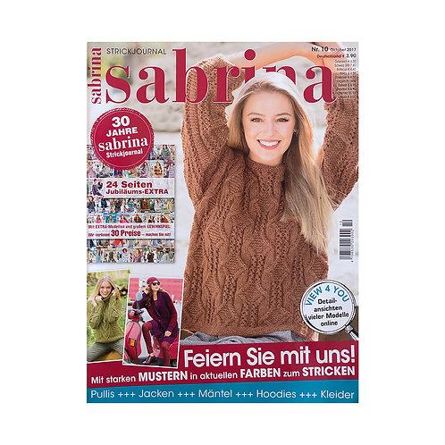 Списание Sabrina октомври 2017