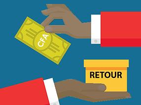 retour-remboursement-e-commerce main noi