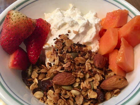 Dr. Manoj's Low-calorie Homemade Granola