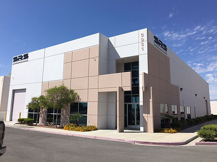 Our building for our fabrication shop and waterjet in Las Vegas