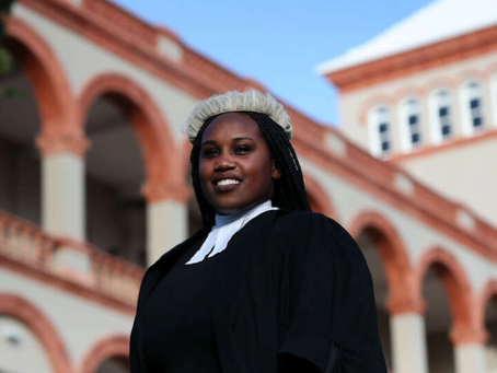 New lawyer Called to the Bar