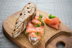 Salmon Toast
