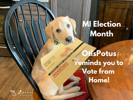 #VoteFromHome with your pet