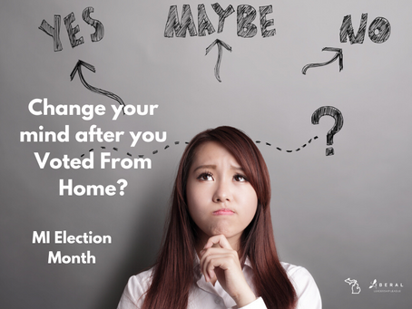 Oops! Can I Change My Vote?