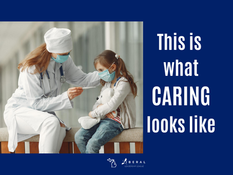 What Caring Looks Like - Mask Up Michigan!