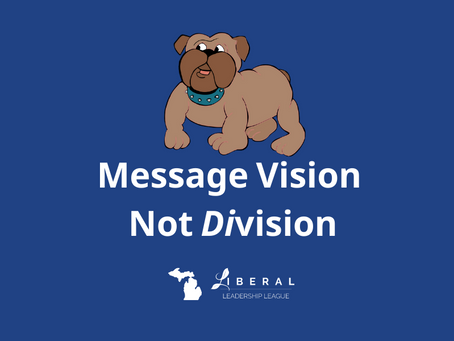 Message Vision. Not Division
