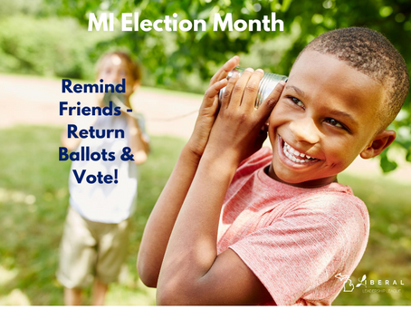 It's time – Return your Ballot