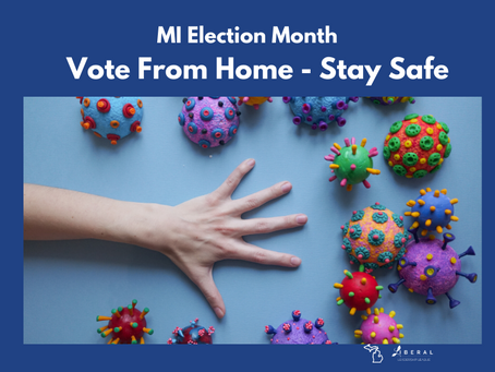 Stay Home - Stay Safe - Vote!