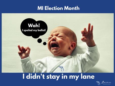 'I spoiled my ballot!'