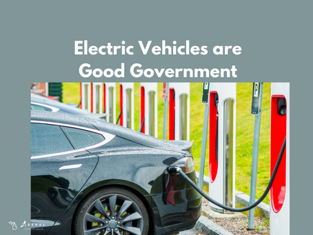 Electric Vehicles are Good Government