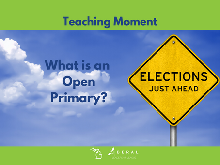 What's an open state primary election?