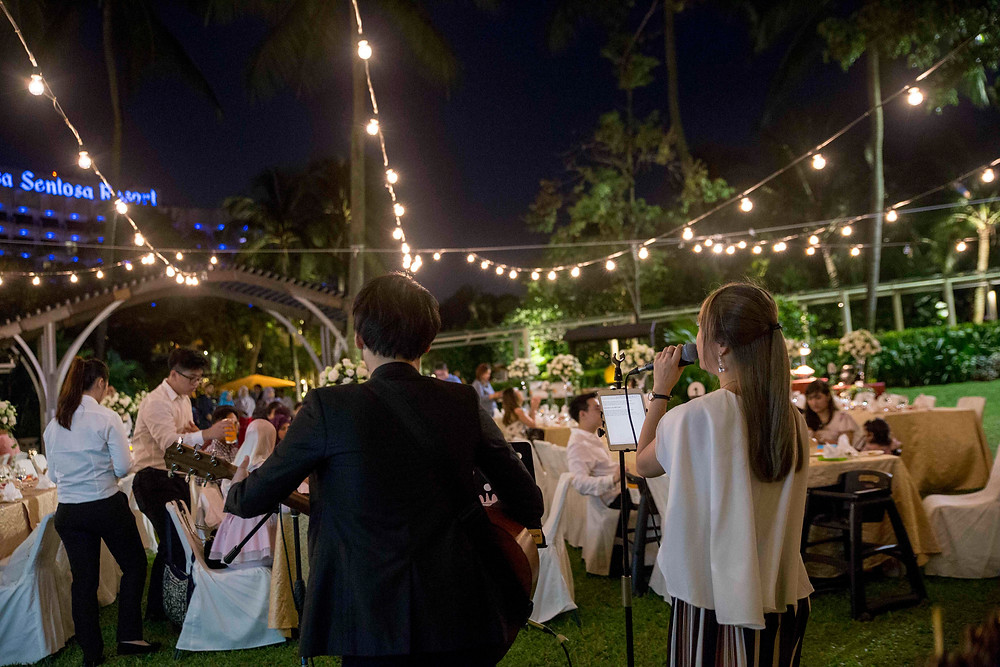 Hire live band in singapore for your wedding! Engage AnchorBlanc today.