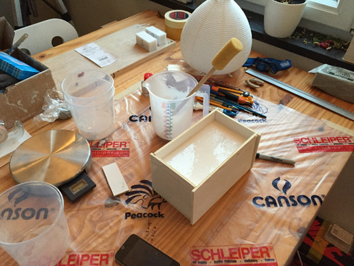 Art Toy: Moulding second halves