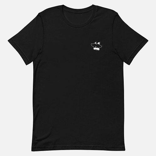 """""""Scared Herman"""" Black T-Shirt"""
