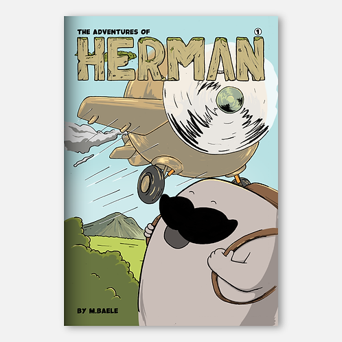 """The Adventures of Herman 01"" Comic"