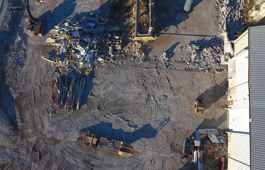 Findlay Warehousing Demolition