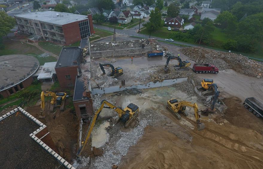Rossford Schools Demolition