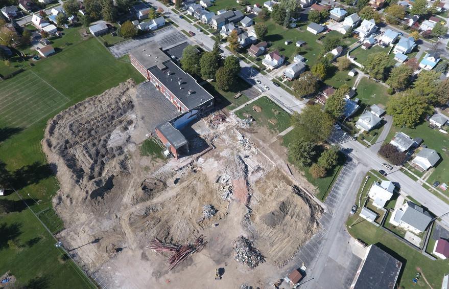 Colonel Crawford School Demolition