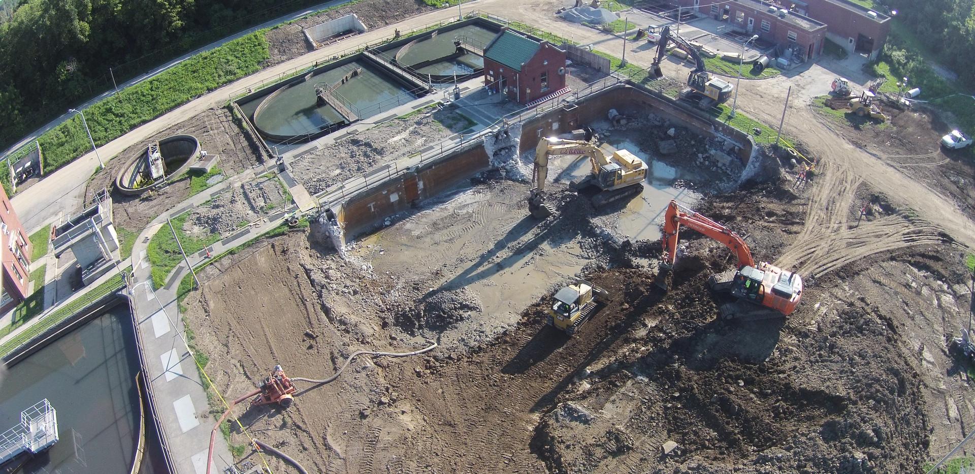 Lima Headwork's Demolition