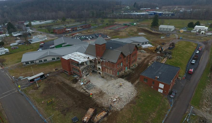 Clearfork Schools Demolition