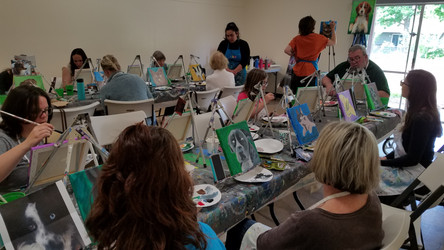 Paint your Pet Fundraiser with B&B