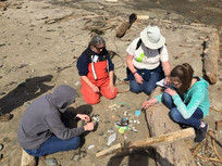 Marine Debris Service Learning weekend