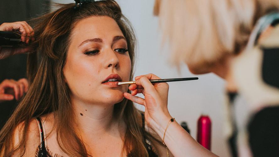Maquillage témoin de la mariée