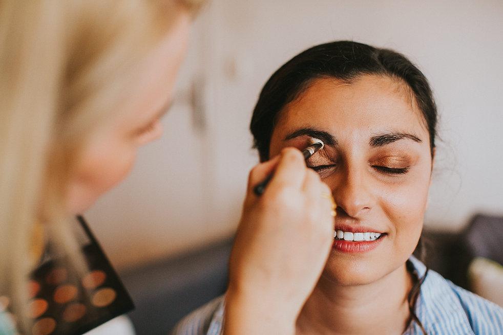Prestation maquillage mariée Faces and Souls makeup