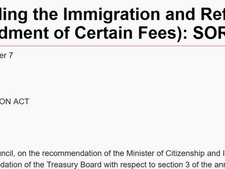涨价在即:加拿大商业移民/PEQ移民项目等联邦申请费将大幅上涨