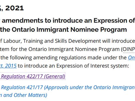 安省PNP改革,加拿大省提名EOI模式全面到来