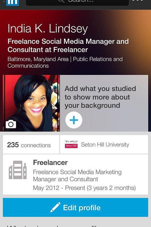 LinkedIn Profile - Revamp