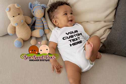 Create your own onsie sizes 3m-24m by Sew Sweet Pea's Handmade