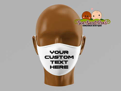 Create Your Own Adult Mask