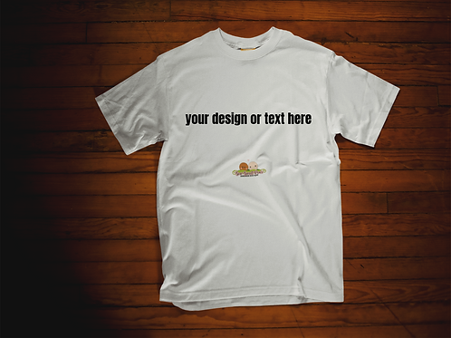 Create Your Own Adult Tshirt Sizes S-XL, short sleeved, WH