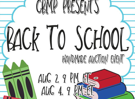 Back to School Auction: Craft Boutique MP