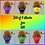 Thumbnail: Back to School set, 5 masks, assorted colors by Sew Sweet Pea's
