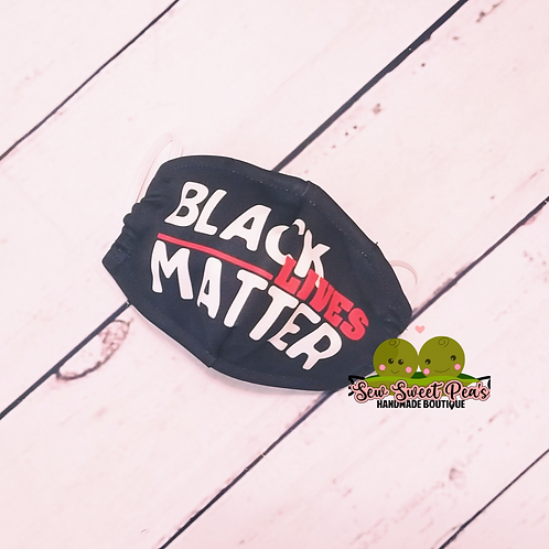 Black Lives Matter Adult Mask