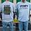Thumbnail: Grumpa, Gone fishin' Adult Tshirts Sizes S-XL, short sleeved