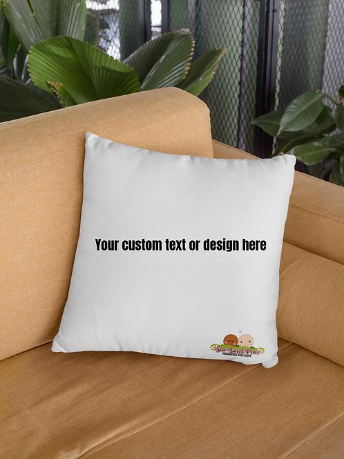 Create Your Own Throw Pillowcase