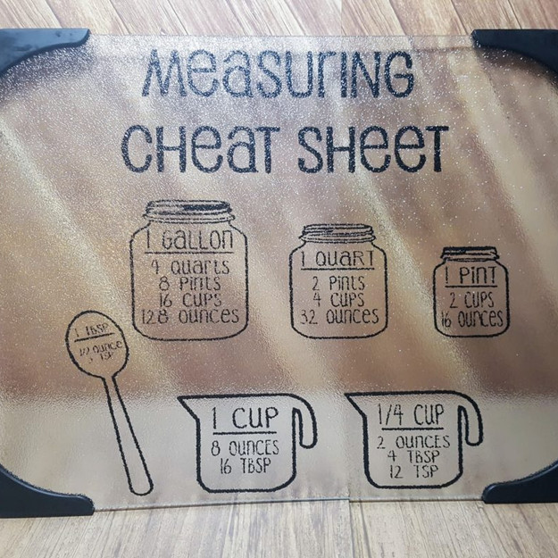 measuring cheat sheet