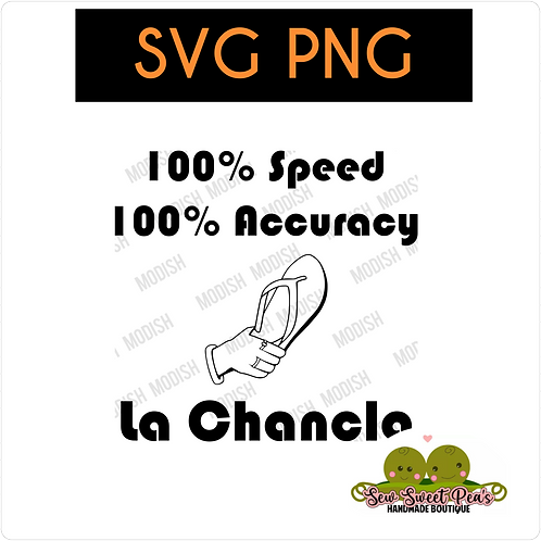 La Chancla 1 & 2 SVG, PNG Vector images from Modish by SSP